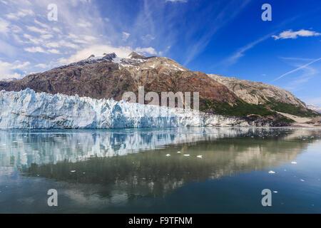 Glacier Bay, Alaska. Margerie Glacier in Glacier Bay National Park - Stock Photo