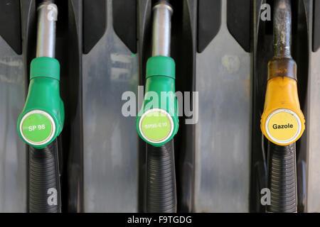 Gasoline station. - Stock Photo