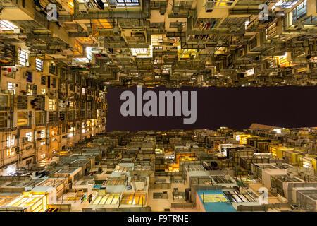 Apartments in Hong Kong - Stock Photo