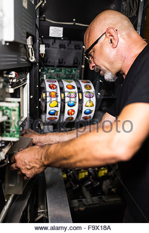slot machine technician