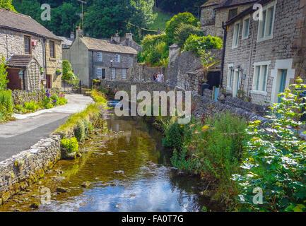 Castleton Derbyshire Stock Photo Royalty Free Image