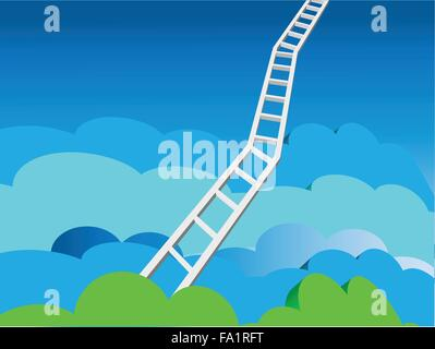 Heaven's Ladder - Stock Photo