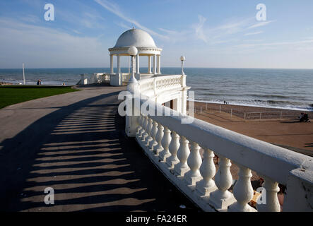 A general view of De La Warr pavilion Bexhill on Sea East Sussex in England October 2015 - Stock Photo