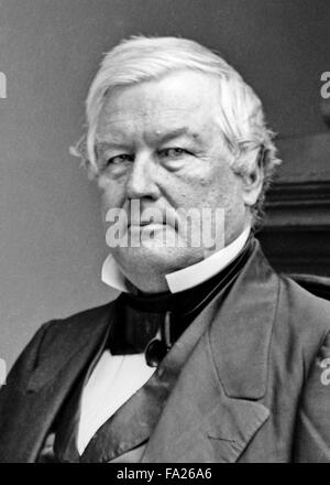 Millard Fillmore, the 13th President of the United States (1850–1853), - Stock Photo