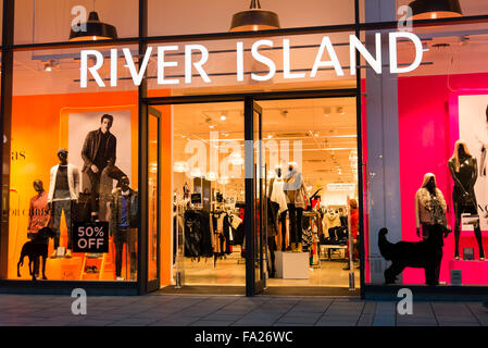 River Island store in Hereford, UK. - Stock Photo
