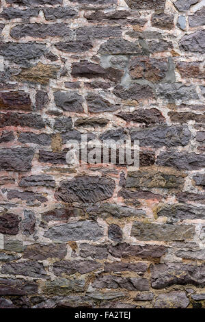 Two Hundred Year Old Stone Wall Vertical - Stock Photo