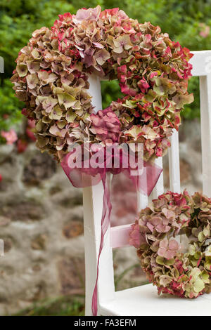 Material hydrangea flowers wisteria branches wire scissors stock material hydrangea flowers wisteria branches wire scissors ribbon gold spray mightylinksfo