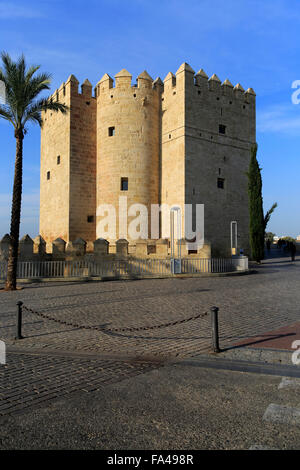 Torre de la Calahorra medieval tower, Cordoba, Spain - Stock Photo