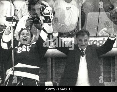 1970 - Icehockey-Worldchampionships In Switzerland: The Icehockey-Worldchampionships took place in Bern/Switzerland - Stock Photo