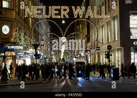 Hamburg Neuer Wall Stock Photo Royalty Free Image