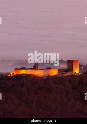 Fort Medvedgrad near Zagreb capital city - Stock Photo