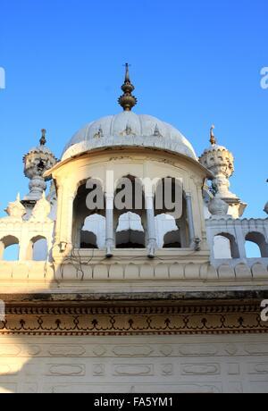 Samadhi Shrine of Ranjit Singh, Lahore, Pakistan - Stock Photo