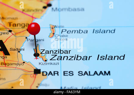 zanzibar map Stock Vector Art Illustration Vector Image