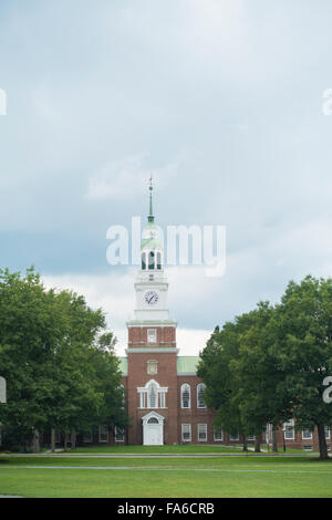 Baker Berry library Dartmouth College New Hampshire - Stock Photo