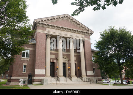Rauner special collections library Dartmouth College New Hampshire - Stock Photo