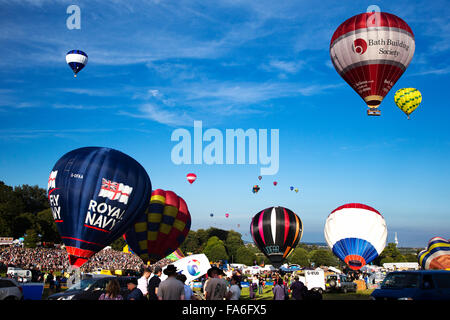 Bristol International Hot Air Balloon Fiesta 2015