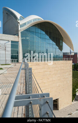 Israel, Tel Aviv, Yitzhak Rabin Center - Stock Photo