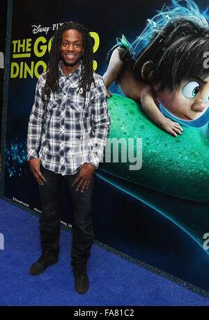 The UK Gala Screening of 'The Good Dinosaur' at Picturehouse Central - Arrivals  Featuring: Nigel Clarke Where: - Stock Photo