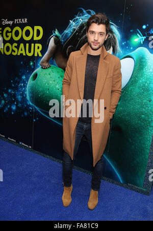 The UK Gala Screening of 'The Good Dinosaur' at Picturehouse Central - Arrivals  Featuring: JJ Hamblett Where: London, - Stock Photo