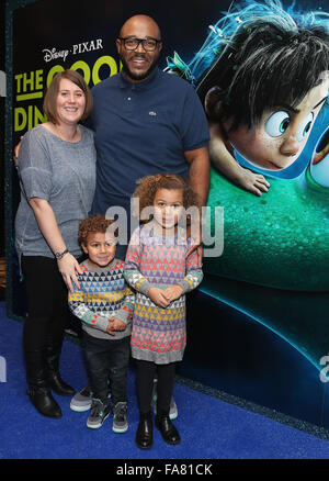 The UK Gala Screening of 'The Good Dinosaur' at Picturehouse Central - Arrivals  Featuring: MistaJam Where: London, - Stock Photo