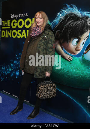 The UK Gala Screening of 'The Good Dinosaur' at Picturehouse Central - Arrivals  Featuring: Jade Parfitt Where: - Stock Photo