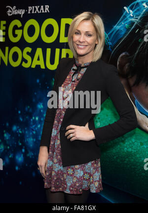 The UK Gala Screening of 'The Good Dinosaur' at Picturehouse Central - Arrivals  Featuring: Jenni Falconer Where: - Stock Photo