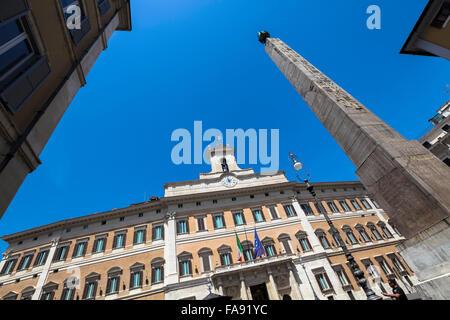 Palazzo montecitorio italian parliament piazza del for Camera dei deputati italia