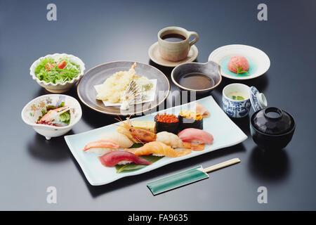 Japanese-style sushi - Stock Photo