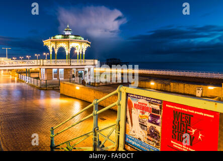 Night Bandstand - Stock Photo