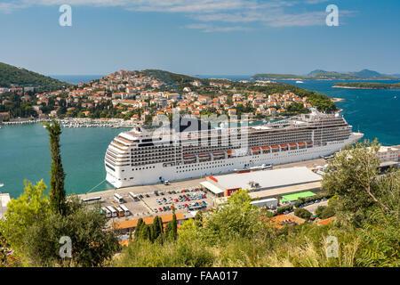 Msc Cruises Cruise Ship Docked At Venice Cruise Terminal