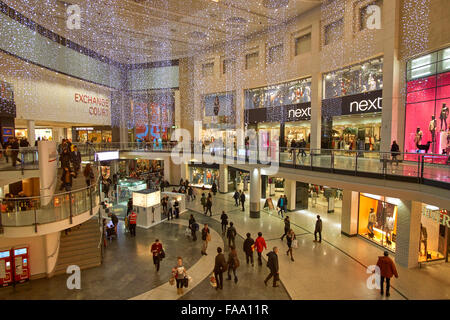 Manchester Arndale shopping centre, Manchester, England. UK. - Stock Photo