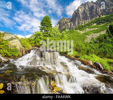 Velka Studenna Dolina, Studenna Valley,Tatra Mountains, Slovakia - Stock Photo
