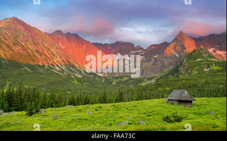 Gasienicowa Valley,Tatra Mountains Poland - Stock Photo