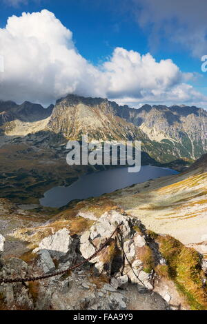 Tatra Mountains, Five Lakes Valley, Poland - Stock Photo