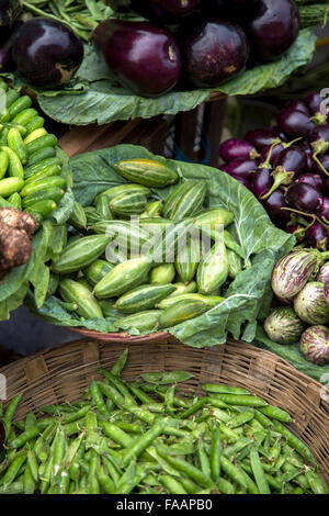 Vegetables on the market in Mumbai, India - Stock Photo