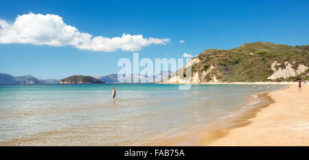 Greece - Zakynthos Island, Ionian Sea, Gerakas beach - Stock Photo