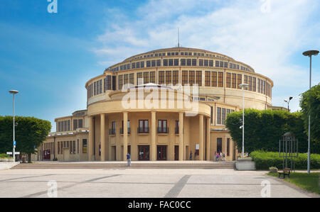 Wroclaw - Architectural Monument and UNESCO World Heritage Site, Centennial Hall, Poland - Stock Photo
