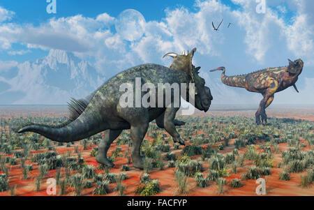 pachyrhinosaurus vs carnotaurus - photo #16