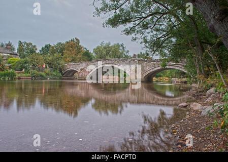Pooley Bridge, Ullswater,  Lake District, England, Uk, Gb - Stock Photo