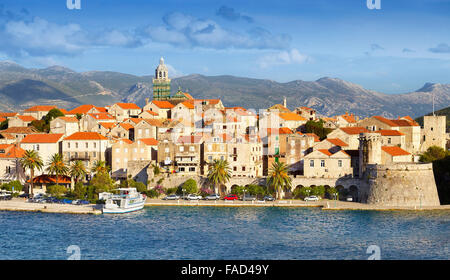 Korcula Island, Dalmatia, Croatia, Europe - Stock Photo