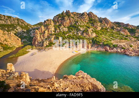 Sardinia - Costa Paradiso Beach, Italy - Stock Photo