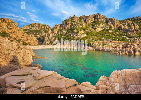 Costa Paradiso Beach, Sardinia Island, Italy - Stock Photo