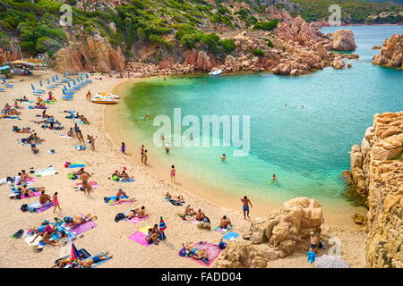 Sardinia Island - Costa Paradiso Beach, Italy - Stock Photo