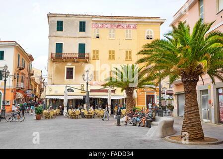 La Maddalena Island, Sardinia, Italy - Stock Photo