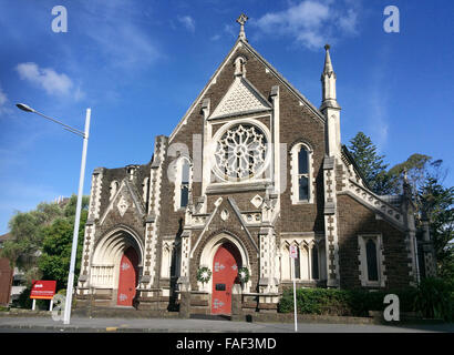 AUCKLAND - DEC 13 2015:St Paul's Church in Auckland, New Zealand.St Paul's is Auckland's oldest church.It's first - Stock Photo