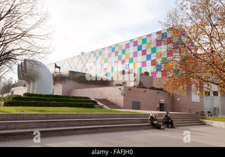 Strasbourg Museum of Modern and Contemporary Art exterior, Strasbourg, France Europe - Stock Photo