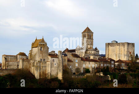 romanesque church st pierre chauvigny france stock photo royalty free image 92545417 alamy. Black Bedroom Furniture Sets. Home Design Ideas