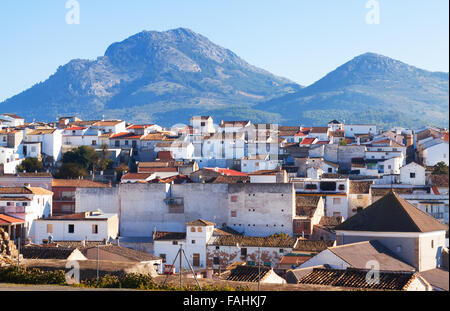 Old andalusian town.  Alcaudete, province of Jaen, Spain - Stock Photo