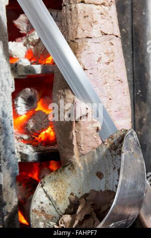 Doner kebab from Turkish cuisine in Istanbul, Turkey.