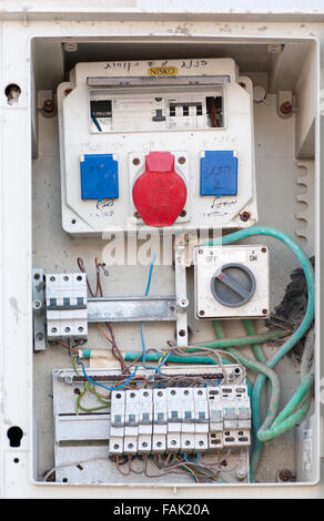 faulty electrical fuse box fak20a faulty electrical fuse box stock photo, royalty free image faulty fusebox switches at crackthecode.co